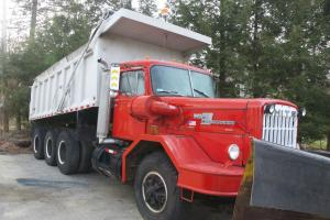 1976 White Construcktor Tri-axle Dump Truck Photo