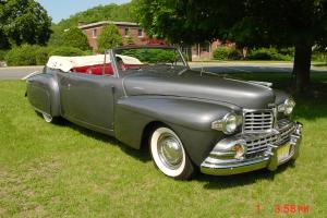 1947 LINCOLN CONTINENTAL CABRIOLET CONVERTABLE CLASSIC vintage