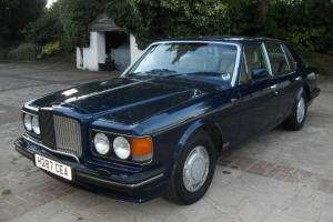1990 BENTLEY TURBO R FULL HISTORY 20 SERVICE STAMPS 20 OLD MOTS