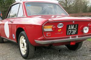 1968 Lancia Fuliva Coupe 1.3 Rallye historic road rally car.