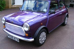 ROVER MINI EQUINOX IN AMARANTH 1996 Genuine 36500 mls. 2 Lady Owners