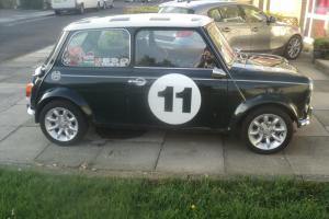classic mini cooper new 1380 engine and straitcut gears.