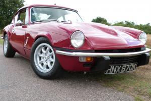 1971 TRIUMPH GT6, BODY OFF CHASSIS RESTORATION