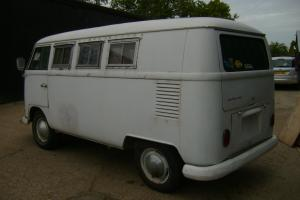 VW SPLITSCREEN SUNDIAL CAMPER 1965 bus not bug beetle notch squareback