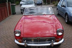 MGB ROADSTER 1967 TARTAN RED  Photo