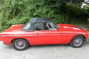MGB Roadster 1970/71 Wire Wheels - Flame Red with Overdrive - Tax Exempt  Photo