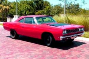 1968 plymouth road runner 383 automatic NO RESERVE