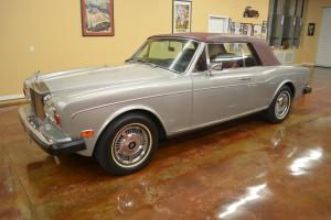 1983 Rolls-Royce Corniche Convertible Photo