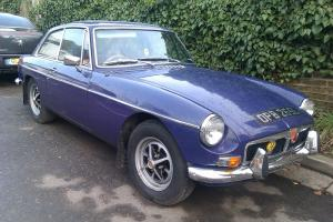 MG BGT 1972 RARE AUTOMATIC WITH SUNROOF 16,000 MILES ON CLOCK  Photo