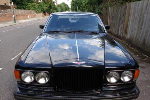 BENTLEY EIGHT LHD 1990 BLACK WITH BLACK LEATHER INTERIOR 42000 MILES