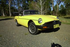 MGB Roadster 1976 Model in Mid-North Coast, NSW