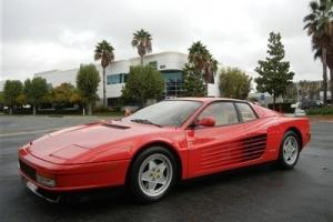 1988 Ferrari Testarossa Base Coupe 2-Door 4.9L