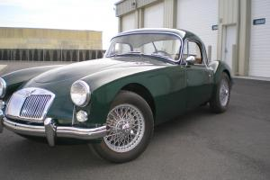 MGA Fixed Head Coupe Photo