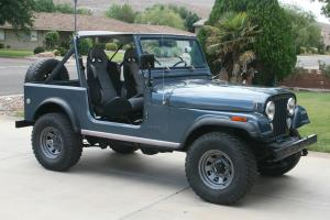 1983 CJ-7 Very Tasteful Build/Restoration No Rust Runs Great Southwest Since New