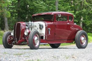 1930 FORD MODEL A COUPE...TRADITIONAL AV8...FLATHEAD