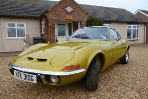1970 OPEL GT 2DR SPORT CLASSIC GOLD 1900