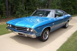 1969 SS396 CHEVELLE /FRAME ON RESTORATION/TH400/12 BOLT/