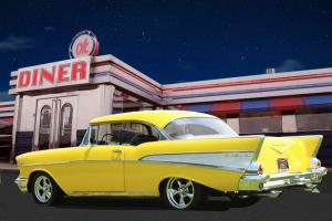 1957 Chevy Belair 2 Dr HT Owned for 23 Years Photo