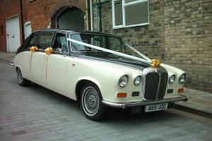 DAIMLER LIMOUSINE DS420 WEDDING CAR, 1980, READY TO USE.