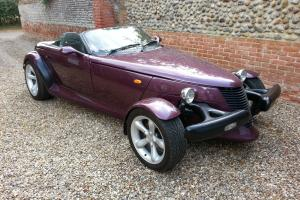 PLYMOUTH PROWLER REPLICA CONVERTIBLE HOT ROD KIT CAR MOT TAX FIERO AMERICAN