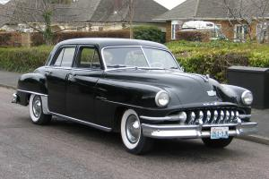 1951 De Soto Custom Sedan classic American car.