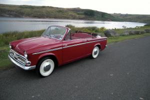 Lovely rare Hillman Minx Convertible III ( Rapier Gazelle type ) Ready for use