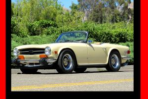 1973 TR6 - CALIFORNIA CAR **SEE VIDEO** NEW PAINT,INTERIOR,TOP. RBLT ENG. XLNT!! Photo