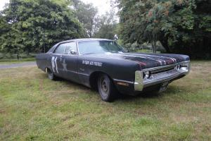plymouth fury 3, rat rod, replica police car, 1970, american muscle car