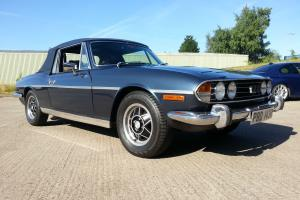 Triumph Stag Blue V8 Manual Overdrive Beautiful Example  Photo