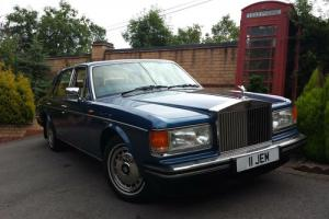 1991 J ROLLS ROYCE SILVER SPIRIT 2 COBALT BLUE  Photo