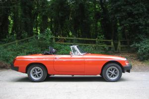 MGB ROADSTER 1978 IMMACULATE