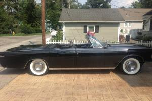 1966 Lincoln Continental Convertible -- Suicide Doors