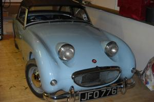 1958 AUSTIN HEALEY SPRITE BLUE  Photo