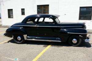 1947 PLYMOUTH COUPE HOT ROD SHOW CAR PERFECT ART DECO MINT WOW KUSTOM RAT ROD