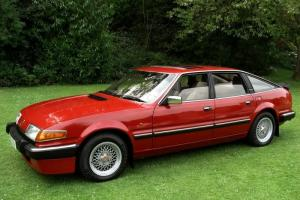 1986 Rover SD1 Vitesse Twin Plenum Targa Red 3500 V8