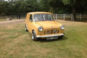 1980 AUSTIN MORRIS MINI 95L BROWN van