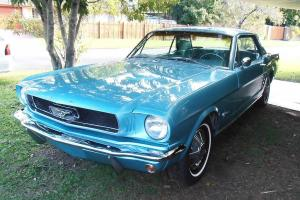 1966 Mustang Absolutely Excellent Inside OUT Reco Motor Trans Brakes ETC