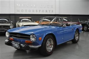 40171 mile RUST FREE ARIZONA TR6 out of Collection