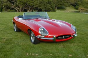 1965 Jaguar E-Type Convertible - Red