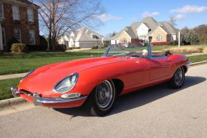 Jaguar Etype XKE 1961 manufacture date Roadster Photo