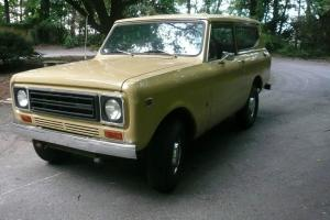 1977 International Scout II Base Sport Utility 2-Door 5.0L