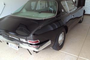 1963 Studebaker Avanti Base R2 Black with rose interior Paxton supercharger