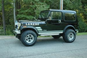 1986 Jeep CJ7 Laredo Sport Utility 2-Door 4.2L