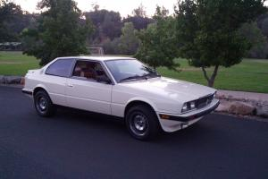 1987 Maserati Biturbo Base Coupe 2-Door 2.5L