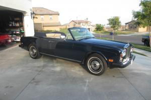 1984 Rolls Royce Corniche Base Convertible 2-Door 6.7L Photo
