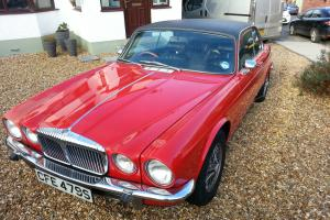1977 DAIMLER SOVEREIGN COUPE 4.0 INJECTION AUTO RED  Photo