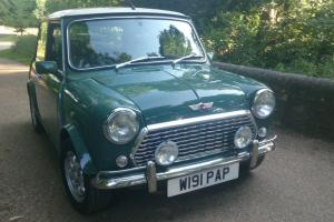 Rover Mini Cooper 1.3 SI John Cooper Works - Almond Green - Green leather