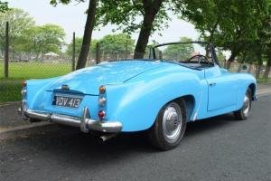 1956 Daimler Drophead Coupe - Ultra rare sportscar (Seats 3 Adults)