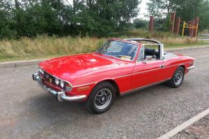 1973 ROVER V8 POWERED TRIUMPH STAG AUTO NO RESERVE Photo