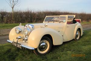 Classic 1948 Triumph Roadster  Photo